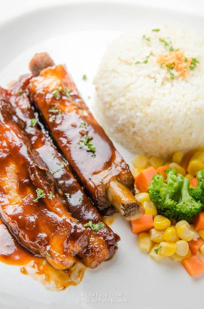 California BBQ Ribs at Vanilla Cafe