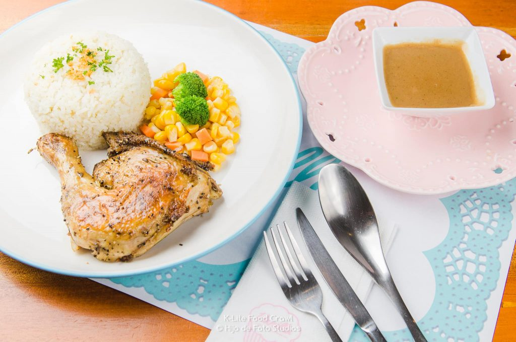 Chicken Diva at Vanilla Cafe